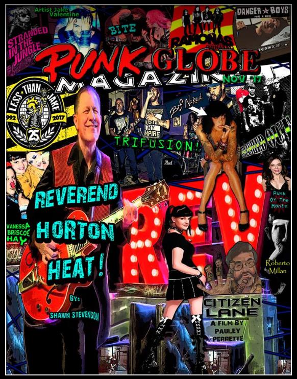 November 2017 Issue of Punk Globe Magazine