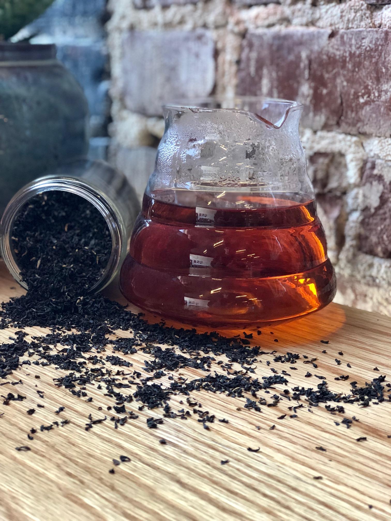 Hot Tea: $3.00