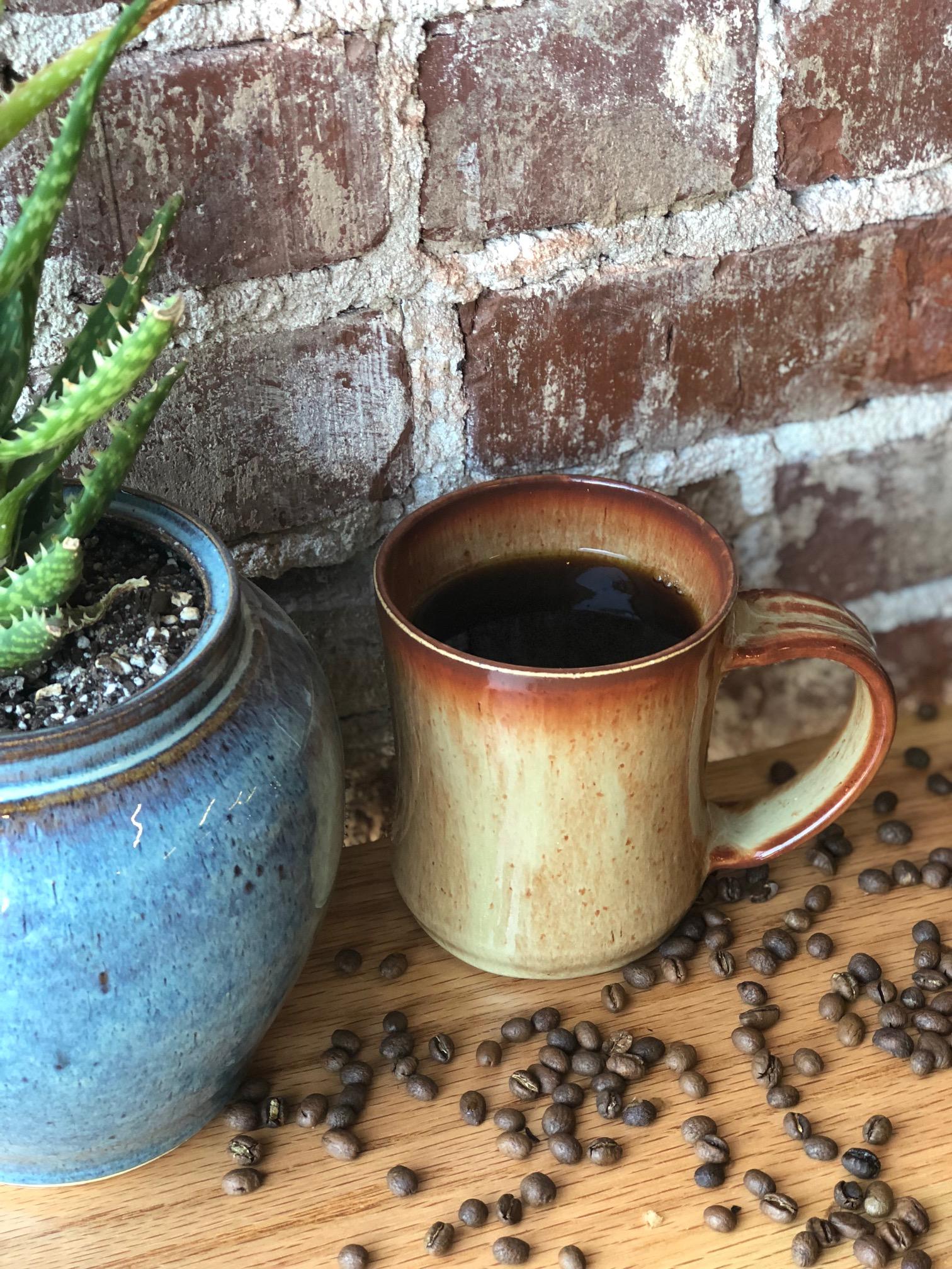 Drip Coffee: $3.25 (Free Refills)