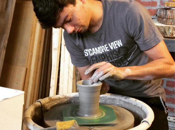 High Ground News    College Students Open Coffeeshop and Pottery Studio Near University of Memphis