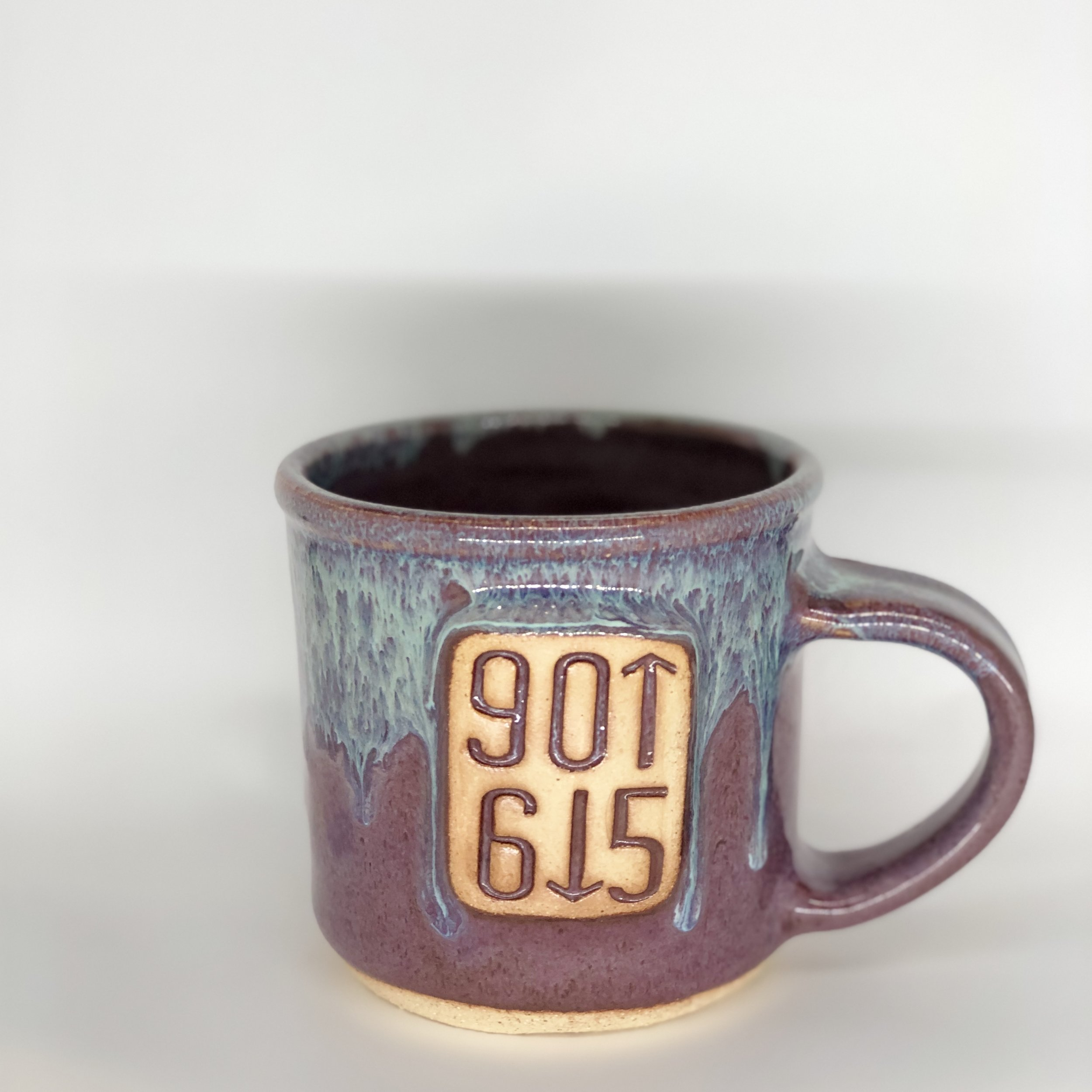 901 / 615 Mug, Short Mug, Blue / Purple Color