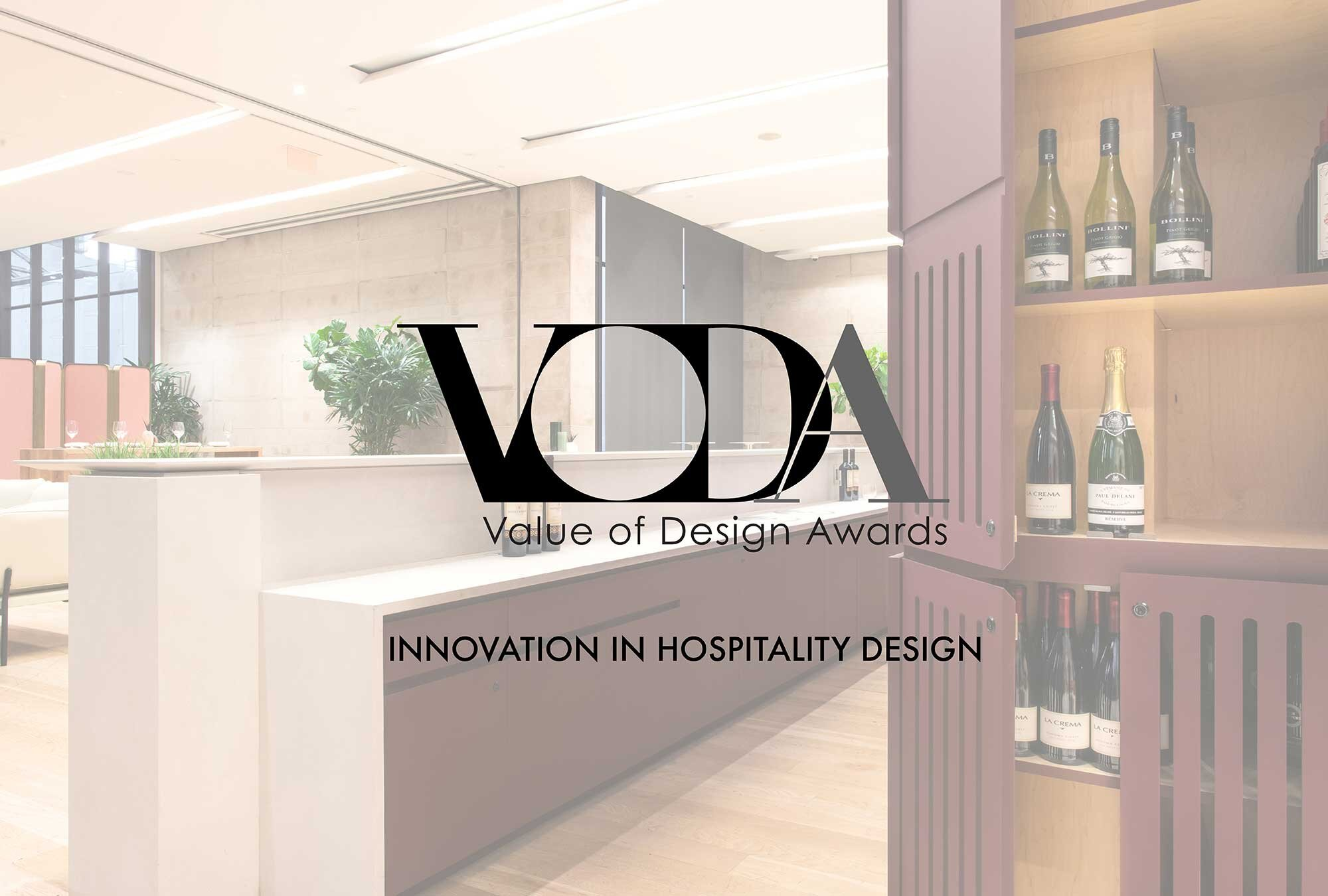 IDC HONOURS CLAY RESTAURANT WITH A VODA - AWARD OF MERIT