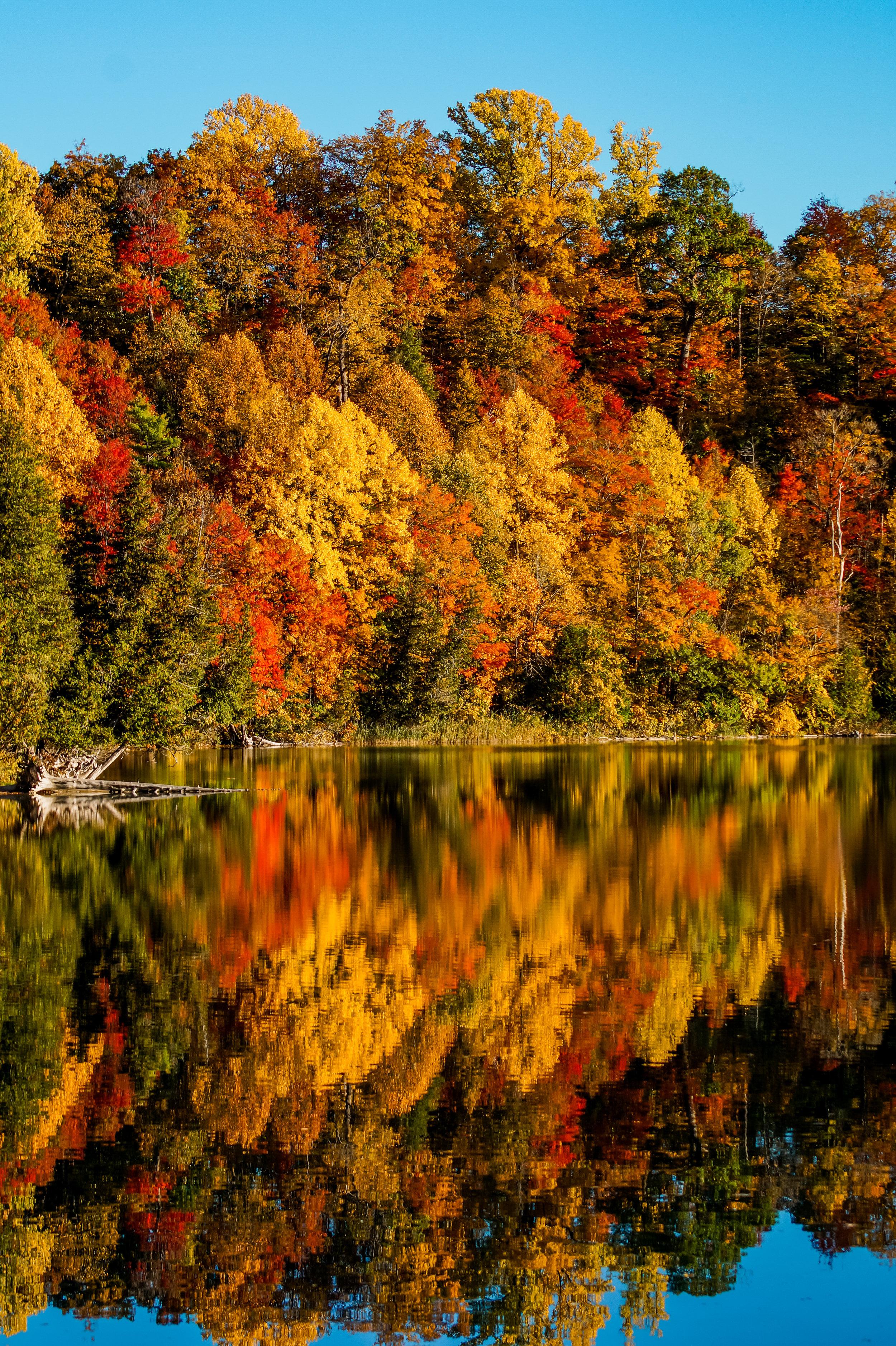 Reflections at Green Lakes