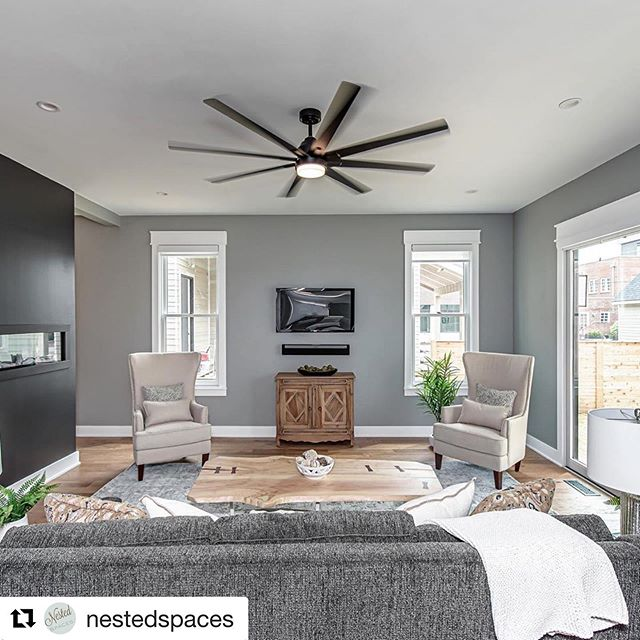 Check out our pieces in this new build downtown!! #Repost @nestedspaces with @get_repost ・・・ More pics from 1606 n New Jersey in Indy!  This is the living room 💕. Hello, barn door!  Hello, porch!  What an amazing property! ... ... ... The property will be open Sunday from 2-4 pm.  Listing by Larry Gregerson with Century 21.  Renovations by 3five Development, Jonathan Brown @browner3535 @3fivedevelopment.  Photos by @rcfineportraits ... And, the beautiful coffee table and side tables are made by @indyurbanhardwood ! ... ... Ps the throw isn't folded correctly in the image. 😂. Its just asking to be folded, right?!?! ... ... ... #nestedspaces #foldthethrow #indyhomes #indianapolis #openhouse #interiorinspo