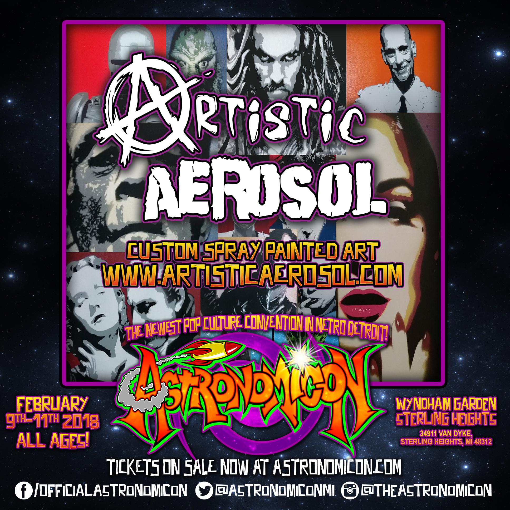 Artistic Aerosol -  www.artisticaerosol.com
