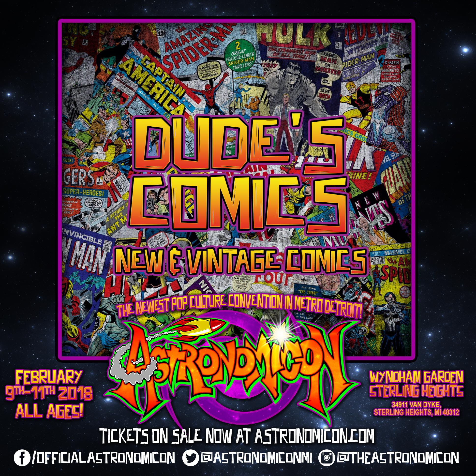 Dudes Comics