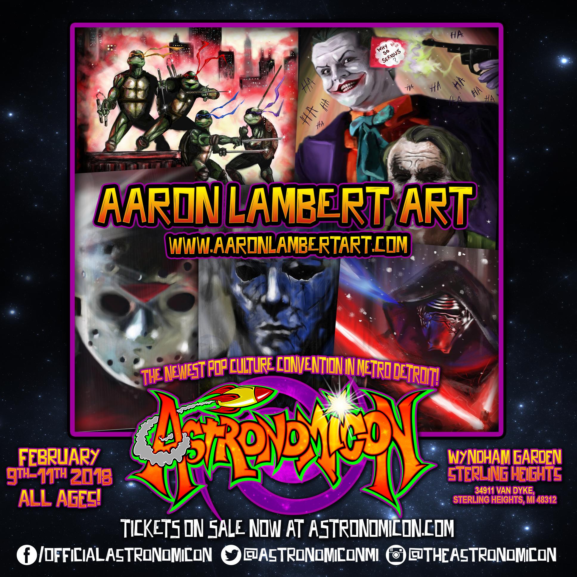 Aaron lambert art -  aaronlambertart.com
