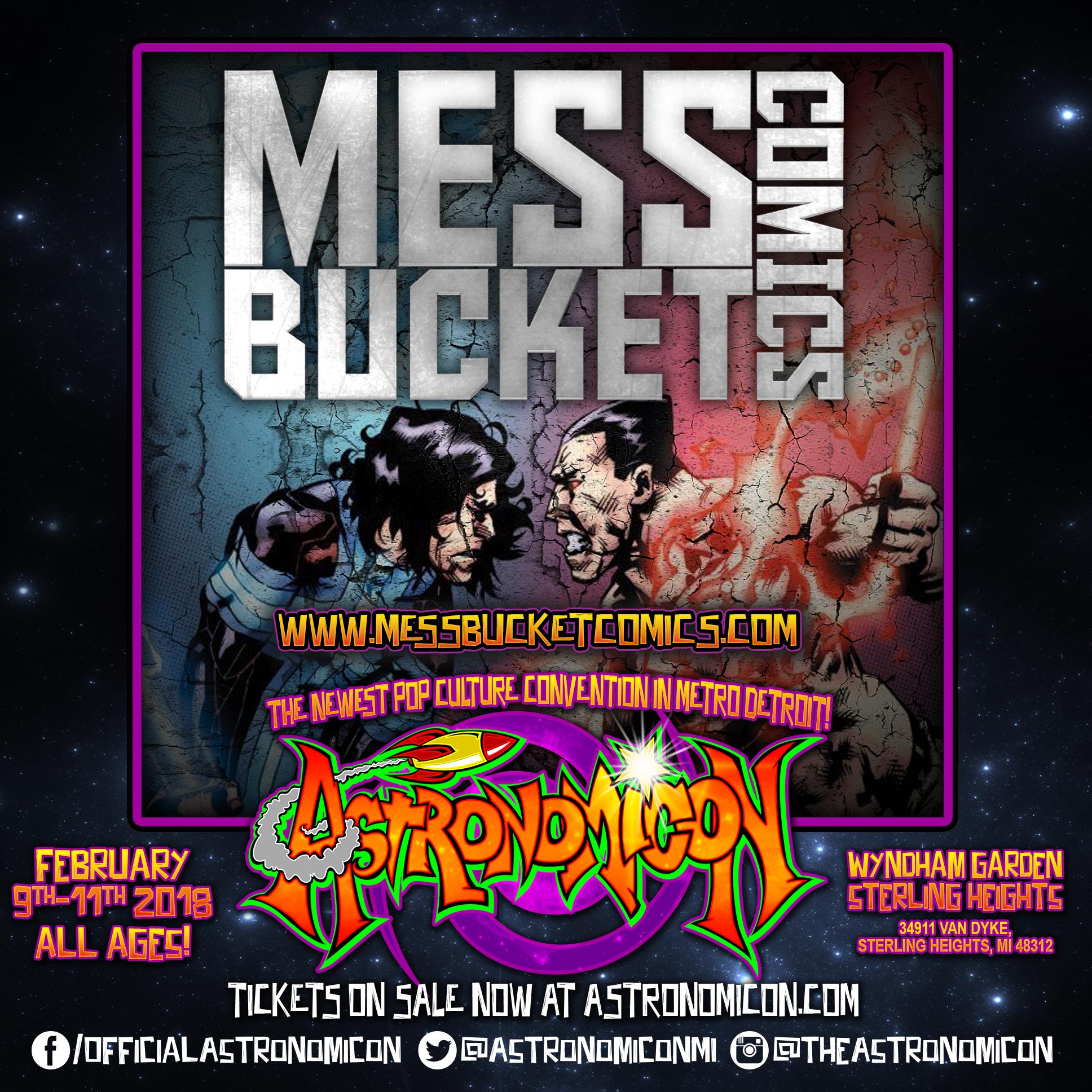 Mess Bucket Comics -  messbucketcomics.com