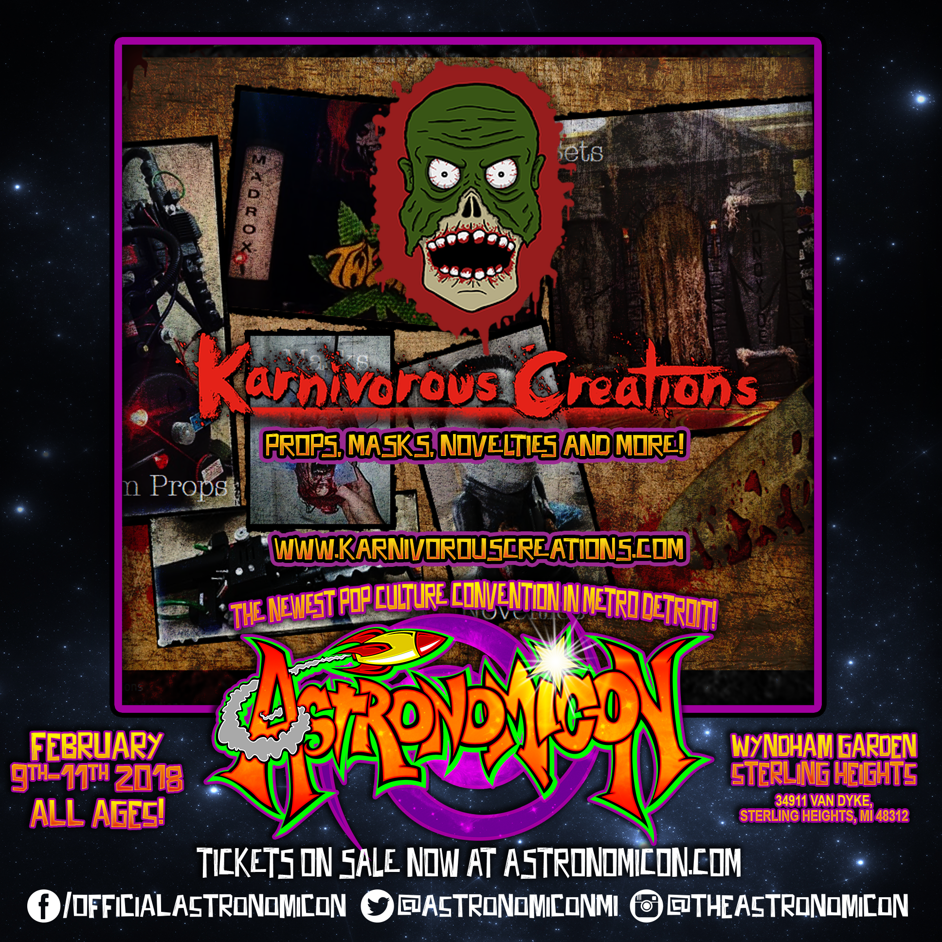 Karnivorous Creations -  www.karnivorouscreations.com