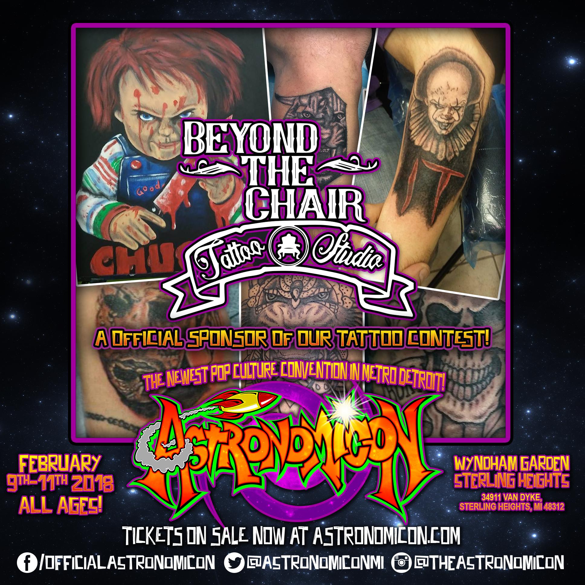 Beyond The Chair -  www.facebook.com/beyondthechairtats/