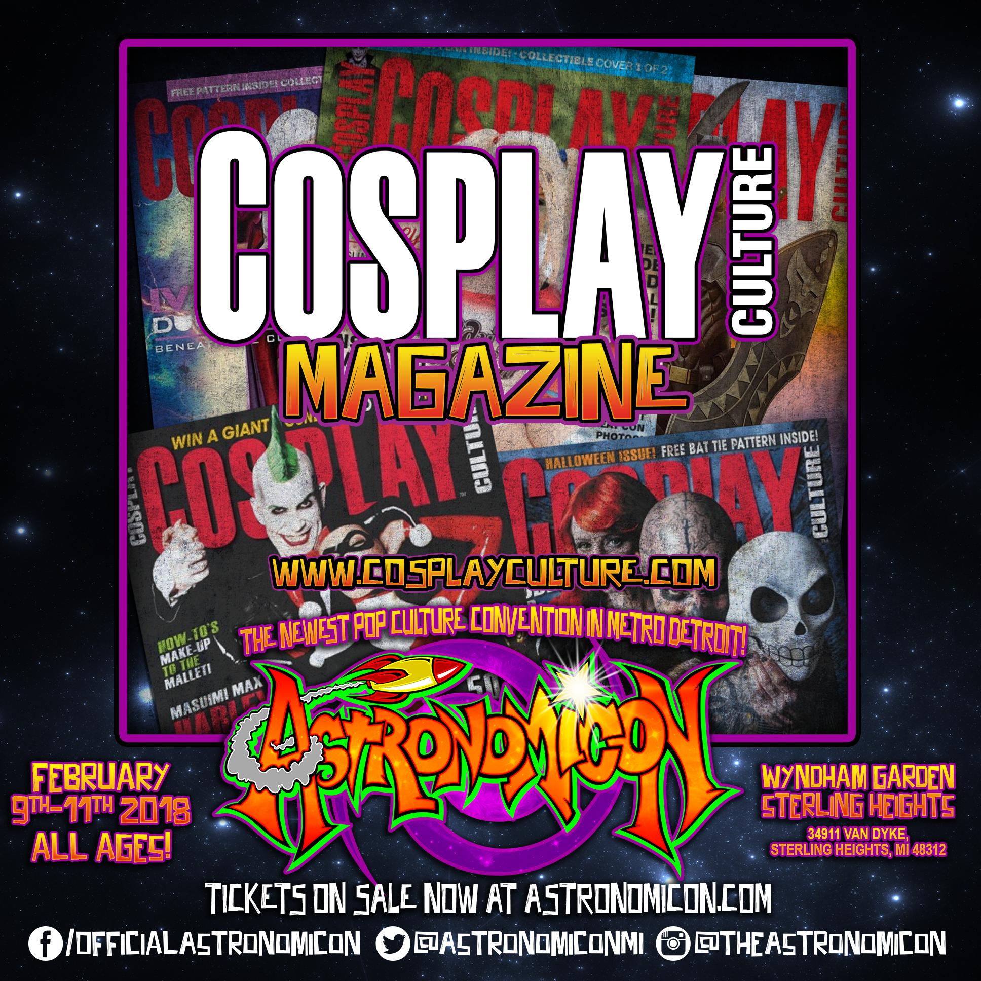 Cosplay Culture Magazine -  https://www.facebook.com/cosplayculturemagazine/