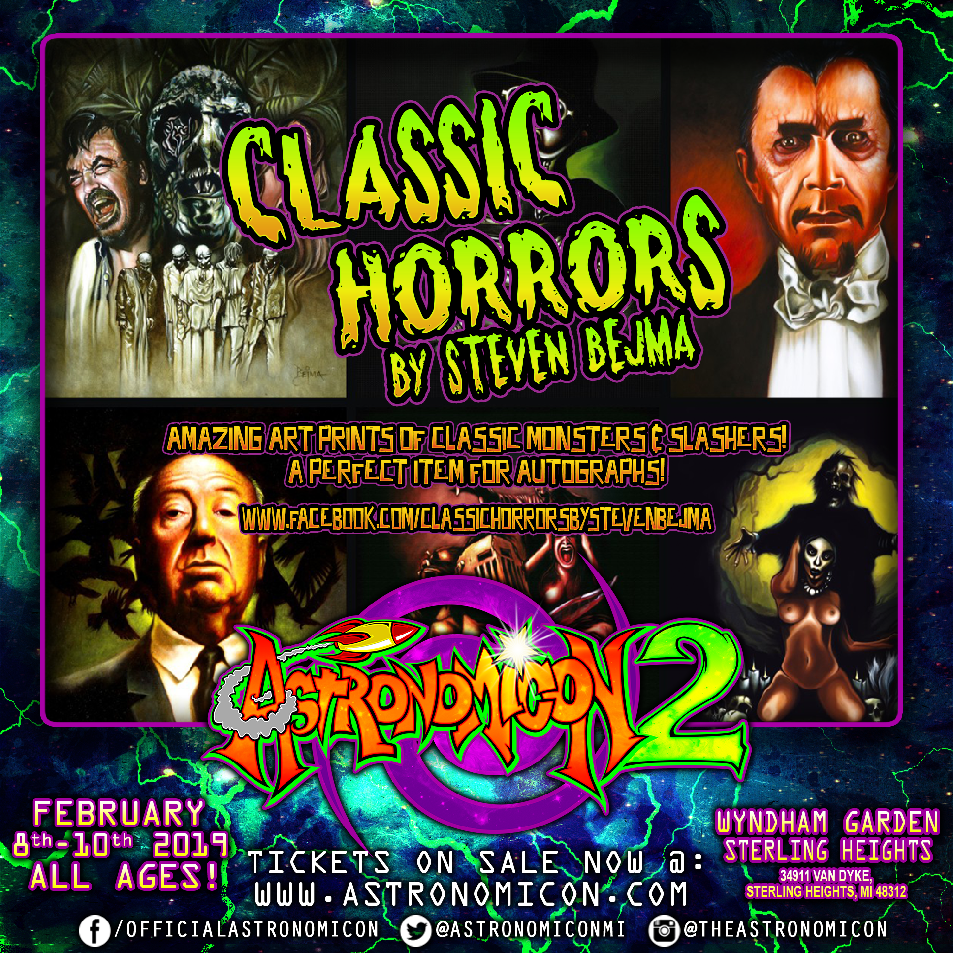 Astronomicon 2 Classic Horrors IG Ad.png