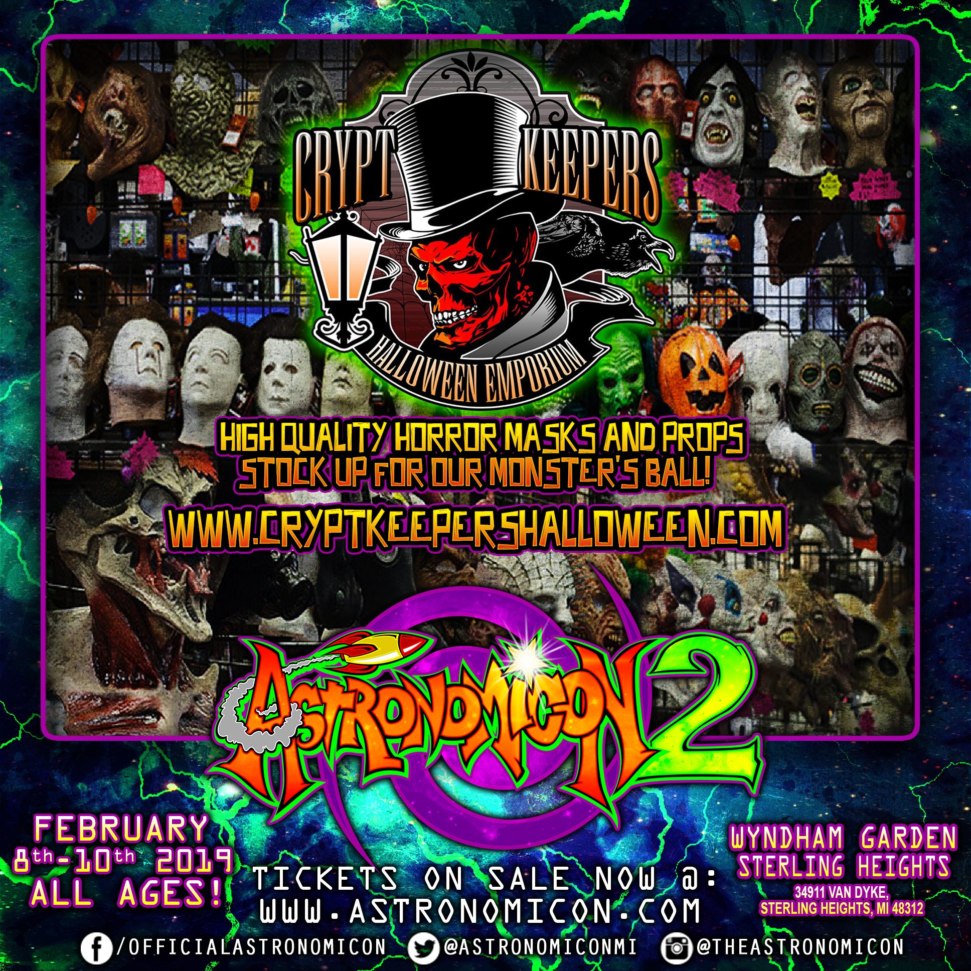 Astronomicon 2 Crypt Keeper's Halloween IG Ad.png