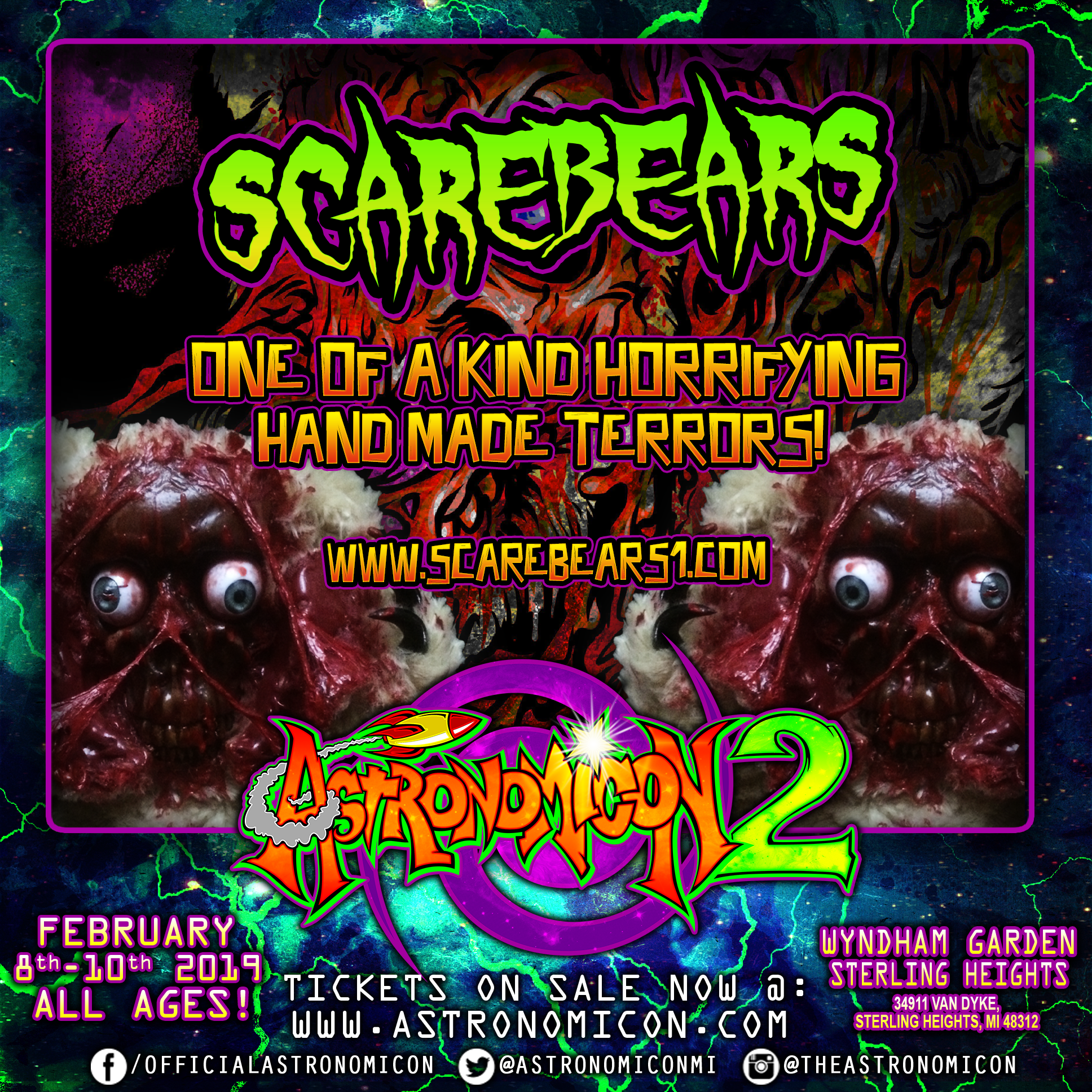 Astronomicon 2 Scare Bears IG Ad.png