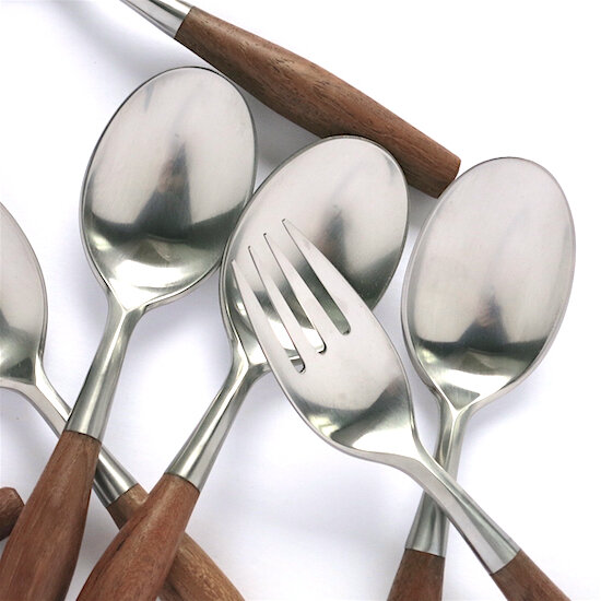 Vintage Jens Quistgaard Dansk Stainless Steel /& Teak Wood Spoon Dansk Fjord Flatware Dansk Fjord Teaspoon Dansk Fjord Small Spoon