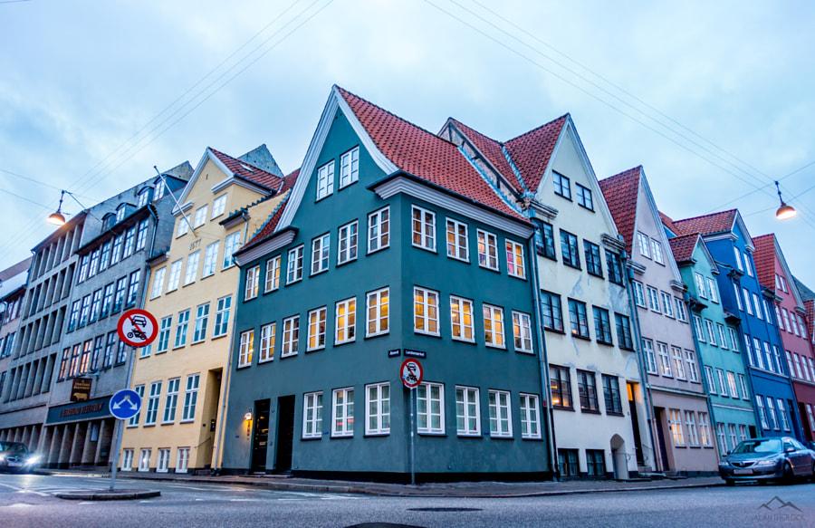 Colourful Houses, Copenhagen