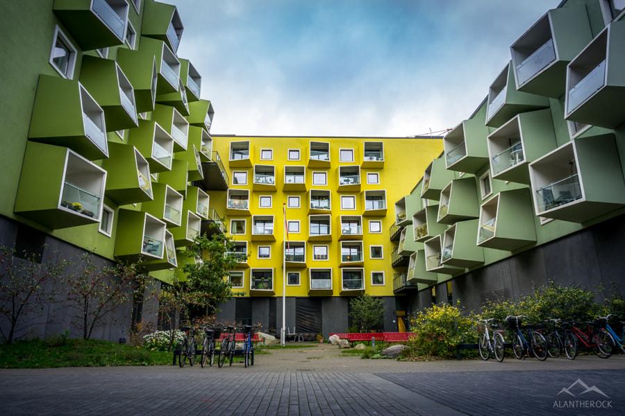 Intersting Architecture - Copenhagen
