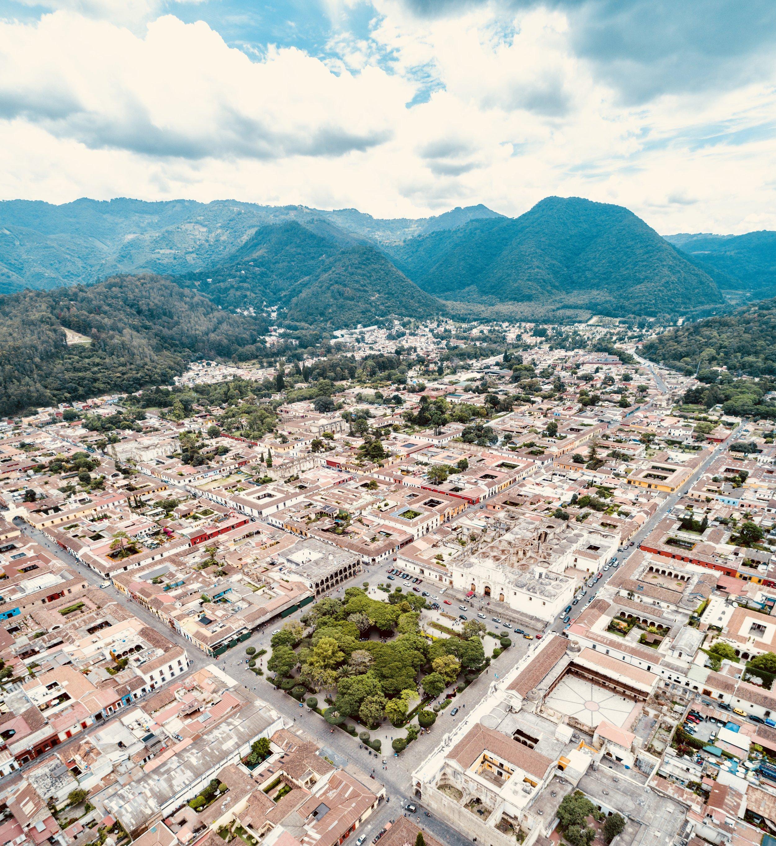 Ciudad de La Antigua Guatemala, Patrimonio Cultural de la humanidad.