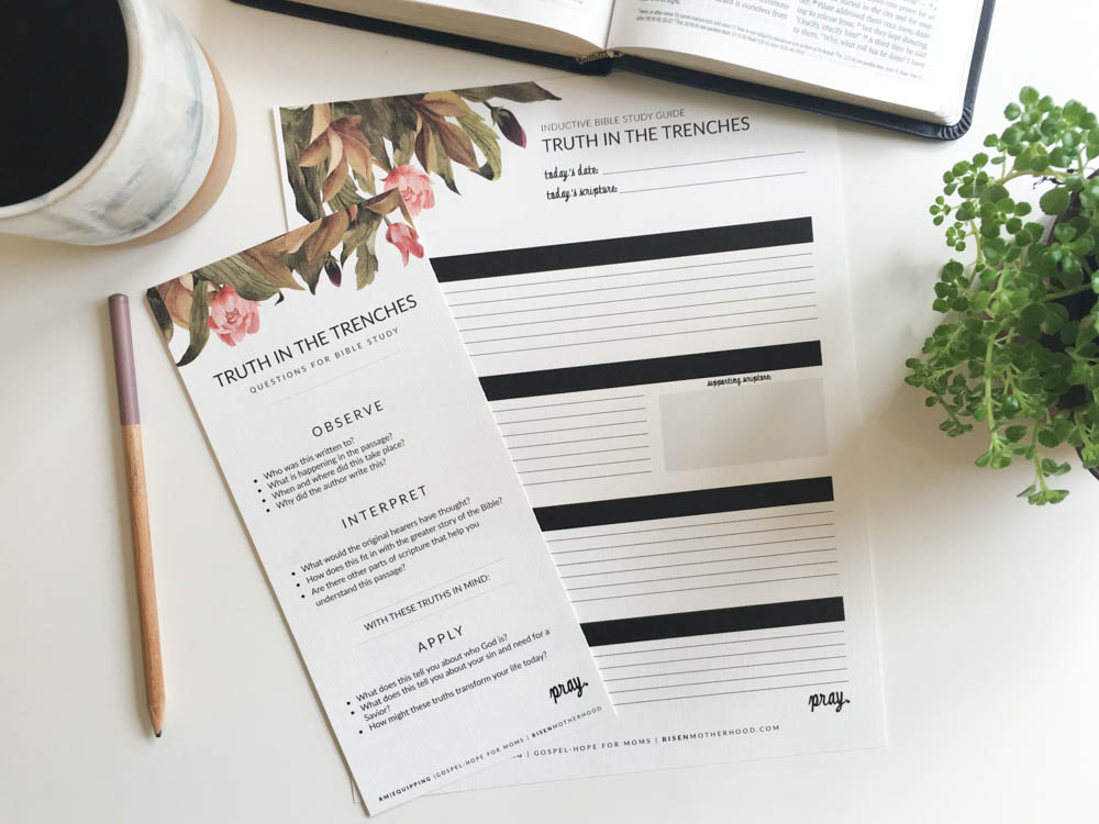 Free Printable: Inductive Bible Study Worksheets & Companion