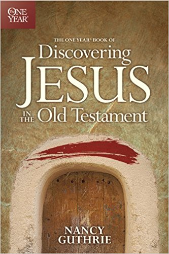 """Discovering Jesus in the Old Testament - We tend to look to the New Testament to tell us about Jesus, yet it was the Old Testament about which Jesus said, """"the Scriptures point to me!"""" In The One Year Book of Discovering Jesus in the Old Testament, Bible teacher Nancy Guthrie takes readers from Genesis through Malachi, shining the light of Christ on the promise of a descendent who will put an end to the curse of sin; the story of a father who offers up his son as a sacrifice; the symbol of a temple where people can meet with God; the prophecy of a servant who will suffer; the person of a king who will rule with righteousness―and so much more. Day by day throughout the year, readers will see the beauty of Christ in fresh new ways, creating a deeper understanding and appreciation for who Jesus is and what he accomplished through his Cross and Resurrection."""