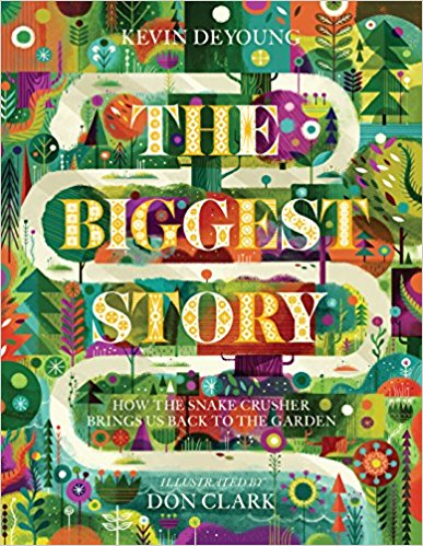 The Biggest Story - The Bible is full of exciting stories that fill children with awe and wonder. But kids need to know how all those classic stories connect to Scripture's overarching message about God's glorious plan to redeem his rebellious people.The Biggest Story leads kids and parents alike on an exciting journey through the Bible, connecting the dots from the garden of Eden to Christ's death on the cross to the new heaven and new earth.