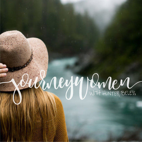 JOURNEY WOMEN - Hunter Beless from Journeywomen podcast interviews Laura about decorating and the gospel.