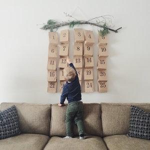 DIY Advent Calendar Example