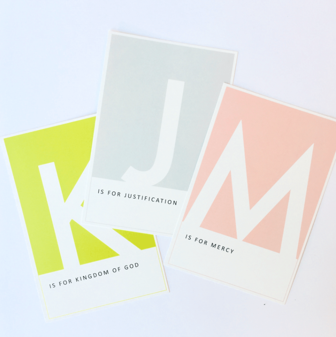 ABCs of Theology Cards