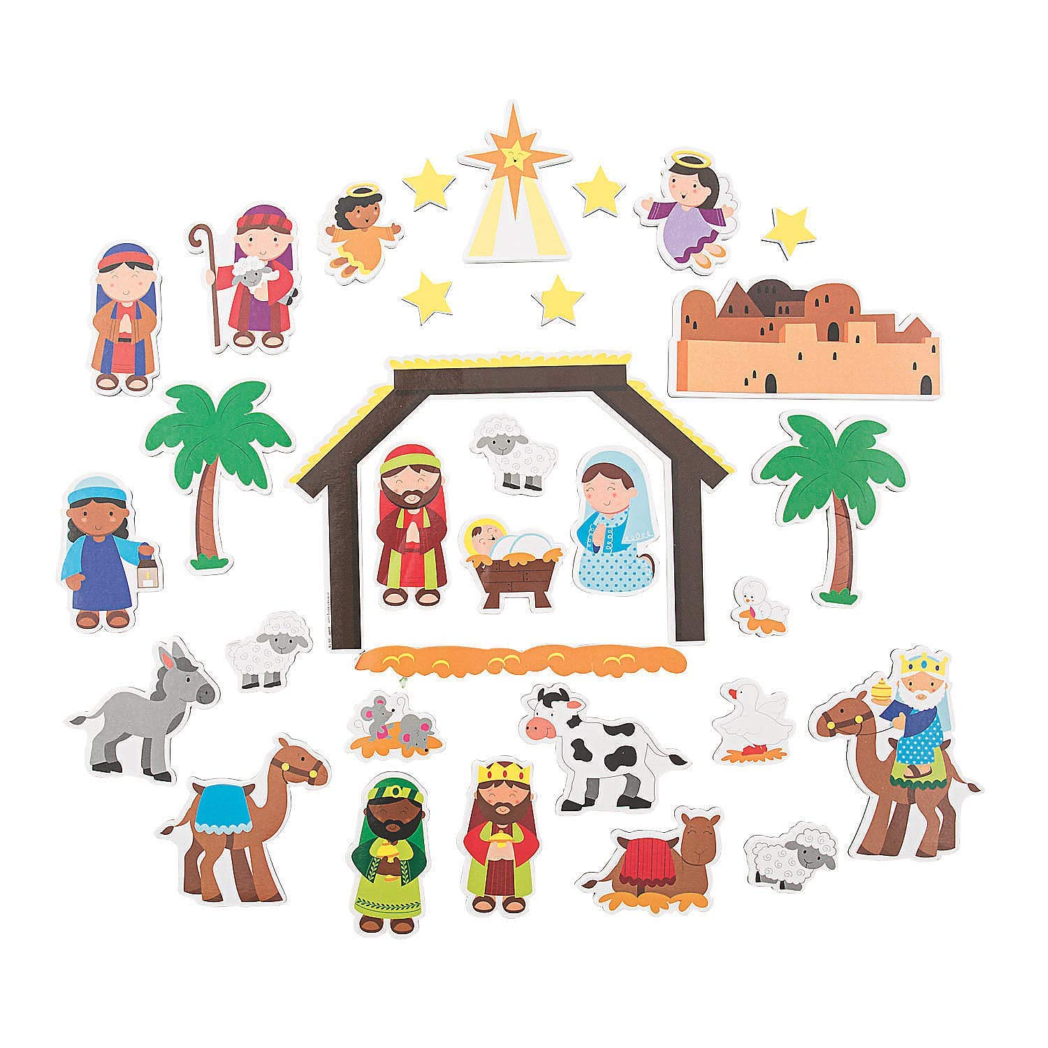 Kaitlin's Happy - Magnetic Nativity Scene