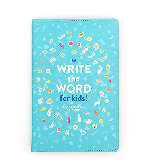 Write the Word Journal for kids!
