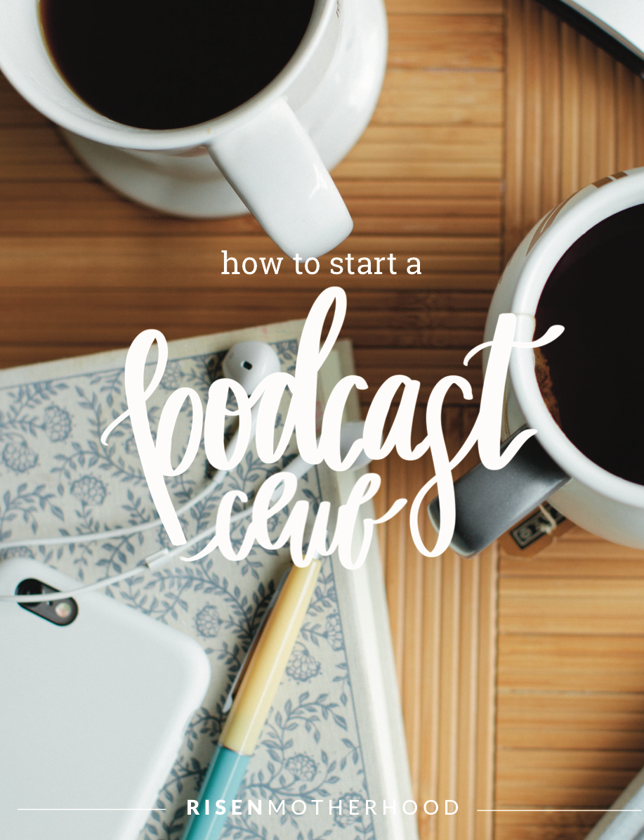 How to Start a Podcast Club Guide - Grab a group of friends to discuss the latest episode of R|M! You bring the coffee, we'll bring the discussion questions. Our hope is your podcast club will be able to talk about how the gospel principles from our shows apply to the specifics of your motherhood. Our guide will help you start and lead a group discussion on how the gospel impacts everything we do.