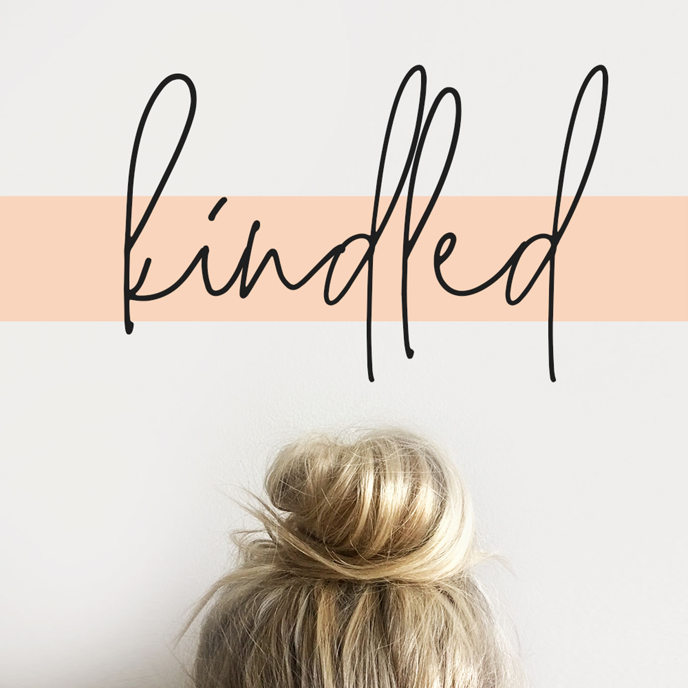 """KINDLED - """"Emily Jensen and Laura Wifler are everyone's favorite sister-in-law duo that redirect our hearts and minds to the truth of the gospel hope we have in our everyday moments of motherhood. Many are hard, most are mundane. But there is no shortage of hope and beauty to be found when we apply the truth of scripture to these ordinary days and moments. Today Emily and Laura are sharing their own everyday reality as moms and how the gospel gives them hope."""""""
