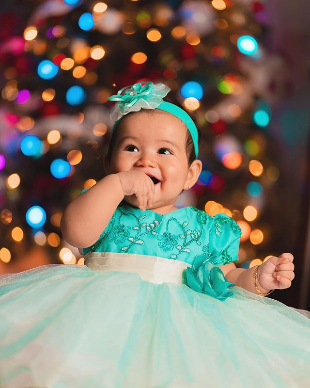 Ready for Santa . . . . . #holidayPhotos #latePost #ChristmasPhotos #babyphoto #babyphotoideas #christmastrees #bokehballs #cute #baby #christmas2018 #sony #a7rii
