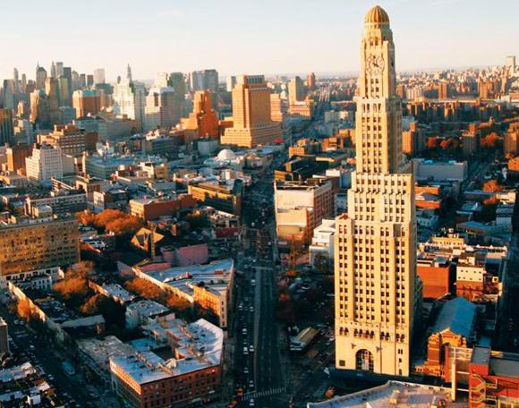 One Hanson Place  - Brooklyn, New York  (photo via  Wikipedia )