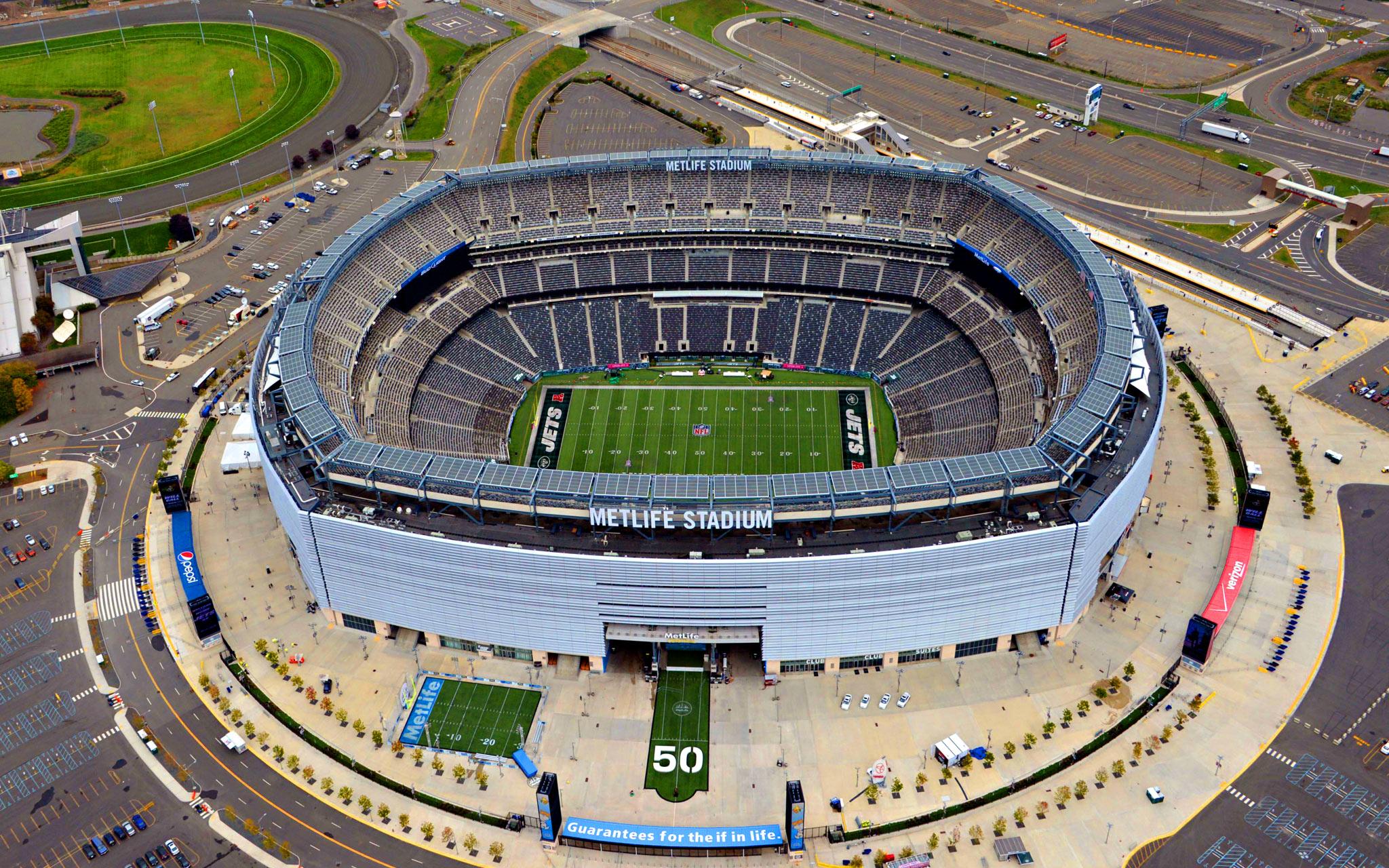 Jets/Giants Meadowlands Stadium    (photo via Sports Info)