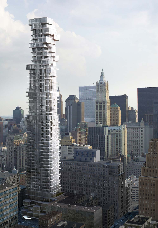 56 Leonard  - Tribeca, New York City       (photo via  56Leonard )