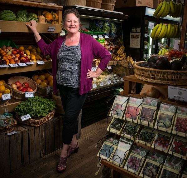 Kathleen Duffy (1969-2017)  Founding organizer of the Dill Pickle Food Co-op