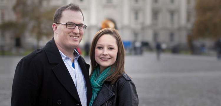 CHI ALPHA - Blake and Katy Edgmon have established a Chi Alpha student ministry at the University of Dublin in Dublin, Ireland.