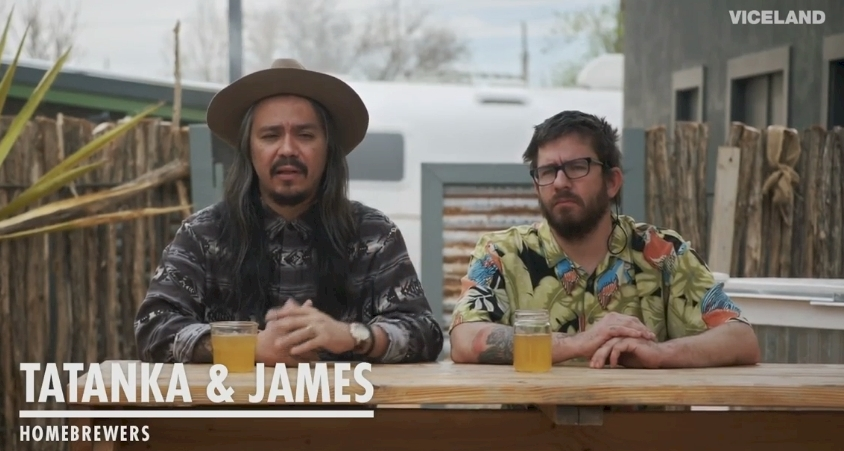 Al Campo's own  Tatanka  and  James on the latest season of Beerland from Vice