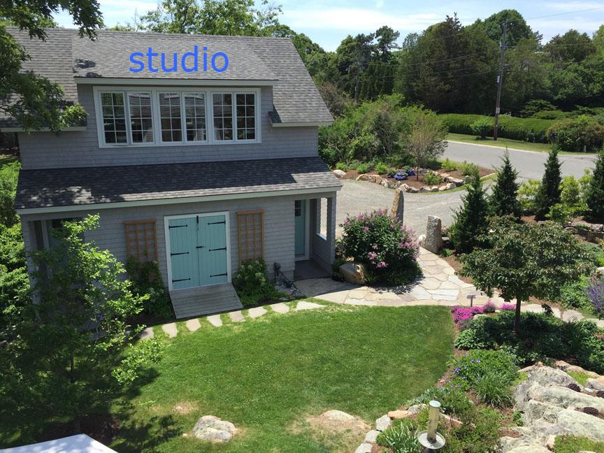 studio and gardens