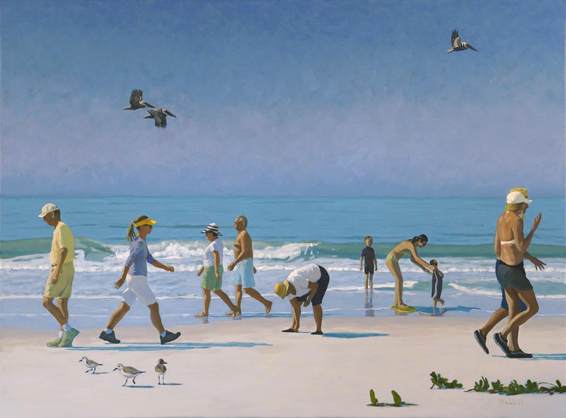 Bonita Beach, 40  x 54, oil on linen, © 2016