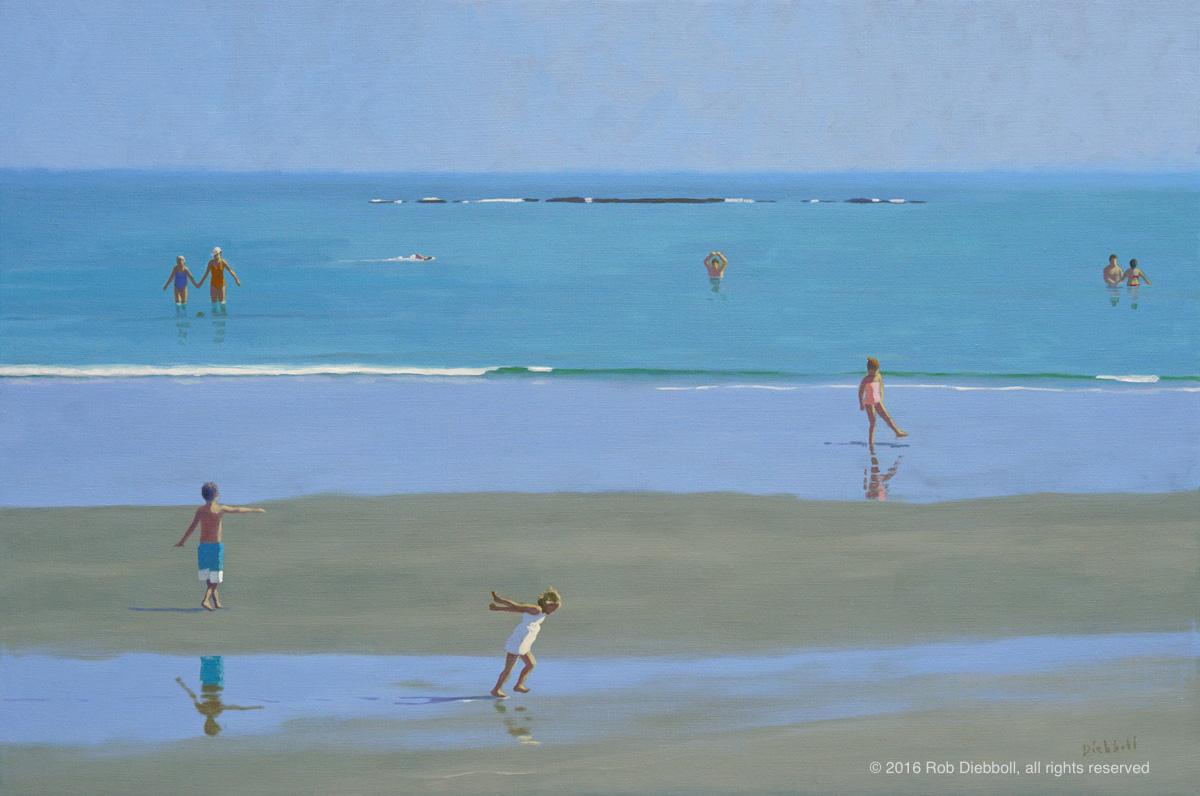 Sand Dance, 32 x 48, oil on linen