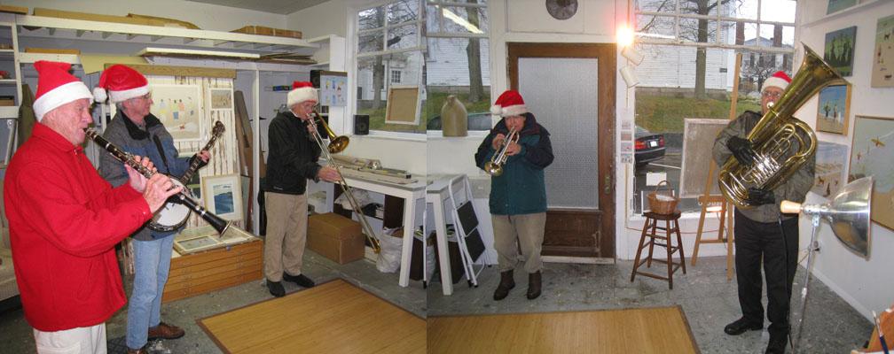 Rockport Holiday Swing Band