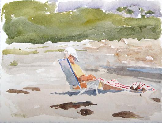 Nap at Cape Hedge