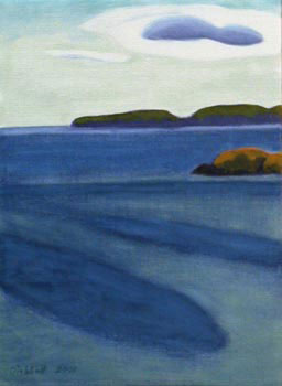 """South from Fine Sand Beach   12"""" x 9""""  limited edition of 50  $200"""