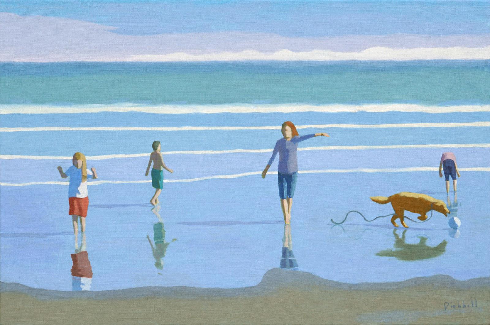Sand Dance II, 20 x 30, oil