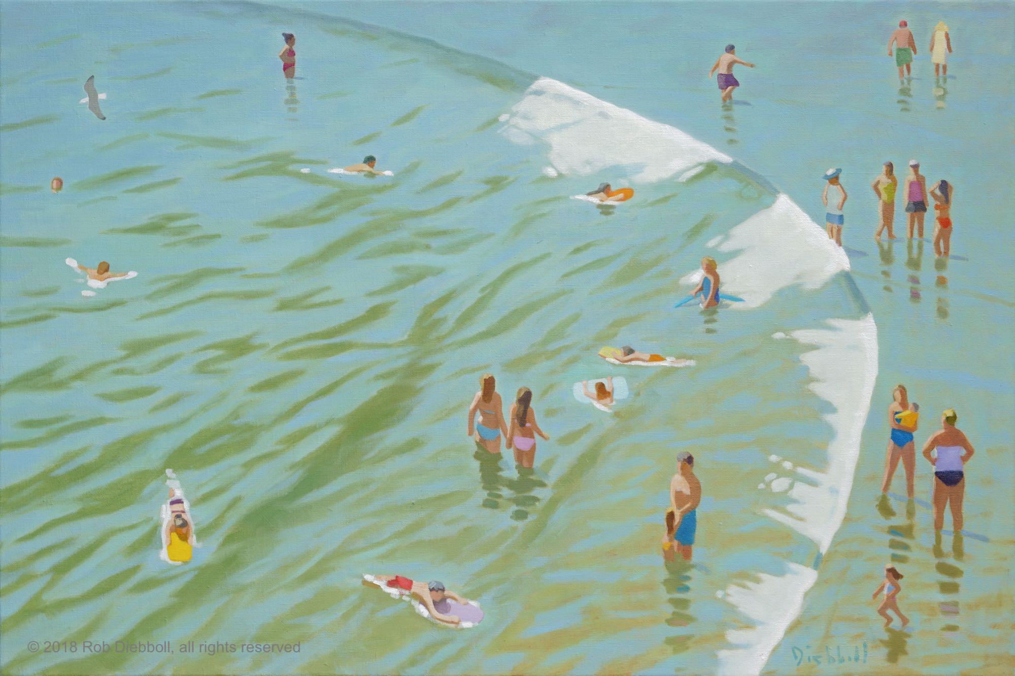 Summer Circle, 24 x 36, oil on linen