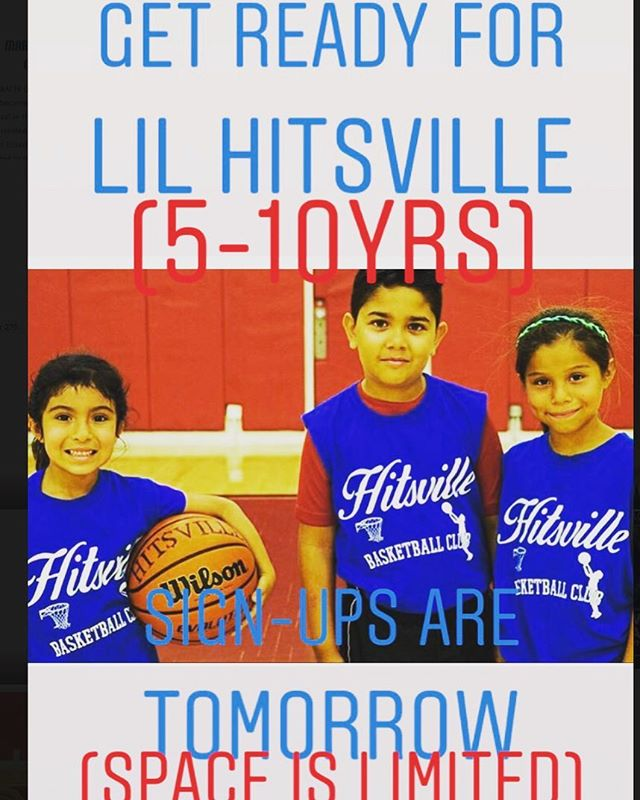 Attention parents and players ! HITSVILLE is now looking to add a younger age group to our weekly schedule. 5-10 years old (beginners and intermediate players )  Sign ups are tomorrow-along with our first practice .  Please message me for more details .(limited availability)  Looking forward to this new day !  Let's put the work in and build our skills ,confidence and character! 💯🏀👍🏼 -  #hitsvillebasketball #hitsvillehoops #hitsvilleallday #basketball #hoops #bball #ballislife #work #skills #training #confidence #consistency #effort #efficiency #coach #nike #determined #youth #sgv #rosemead #la #montebello #thankful #athletes #blessed #🏀
