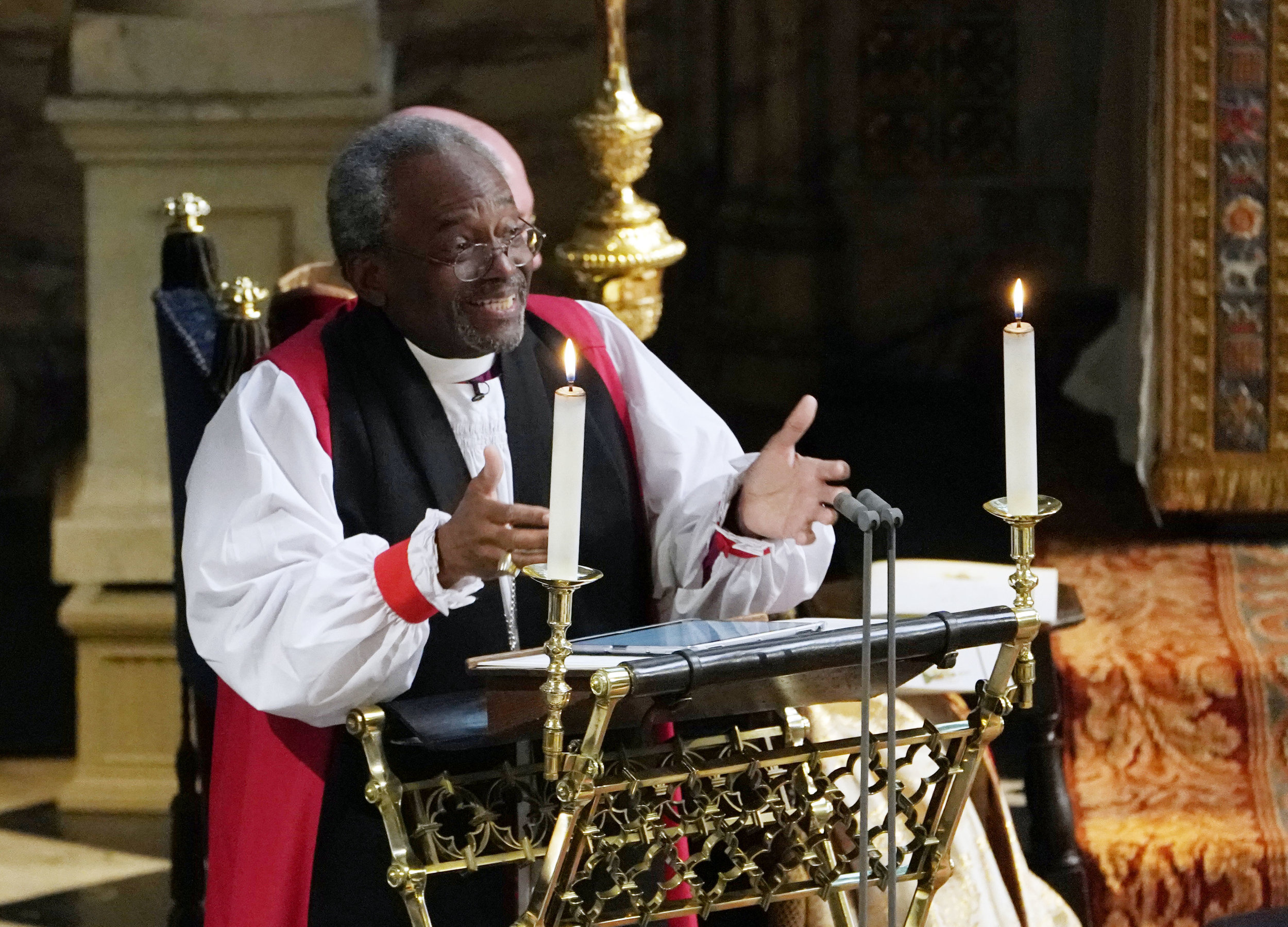 Click here to Listen to Bishop Curry's message.