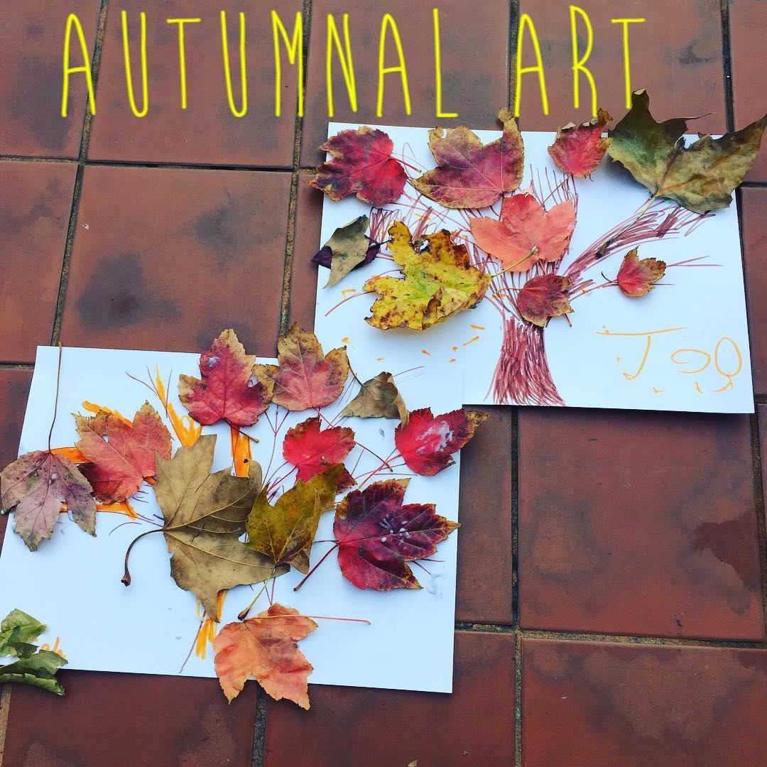 Autumnal art activities